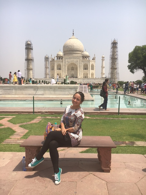 A speeddate with the TajMahal