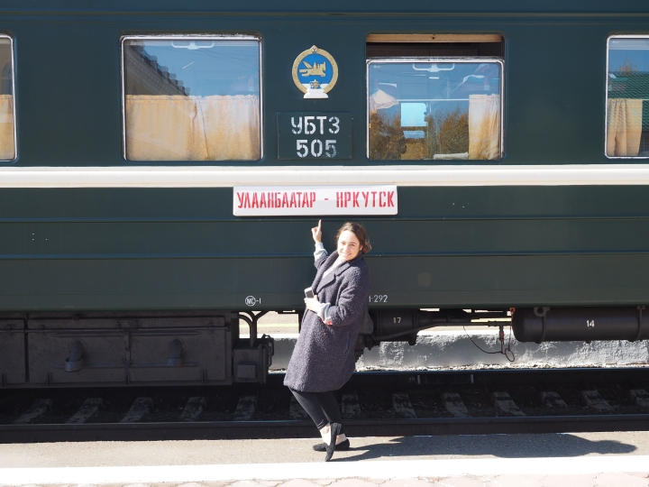 The TransMongolian Express part 5: The Trainride & First Mongolian Landscapes